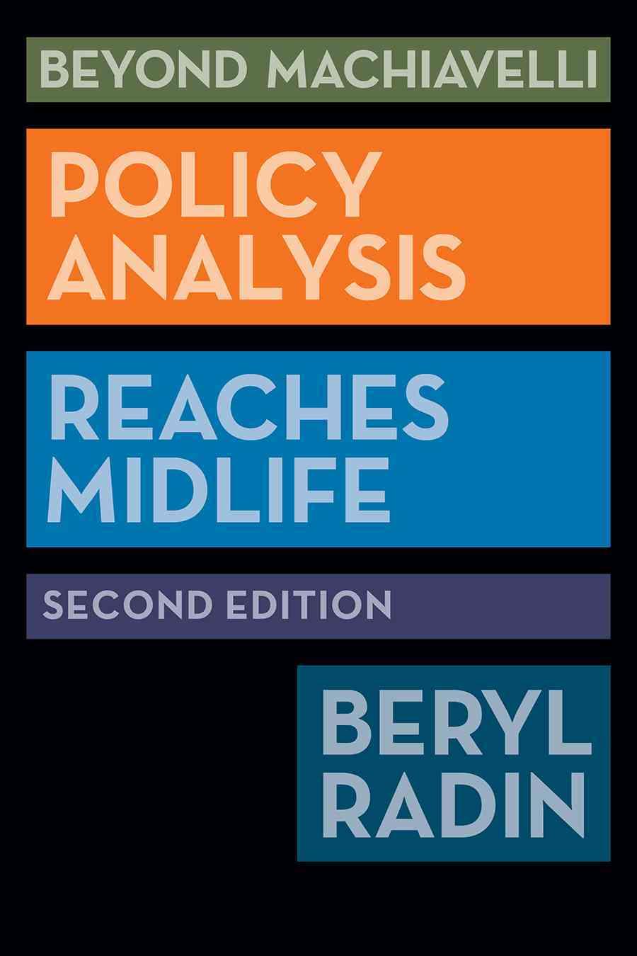 Beyond Machiavelli By Radin, Beryl A.